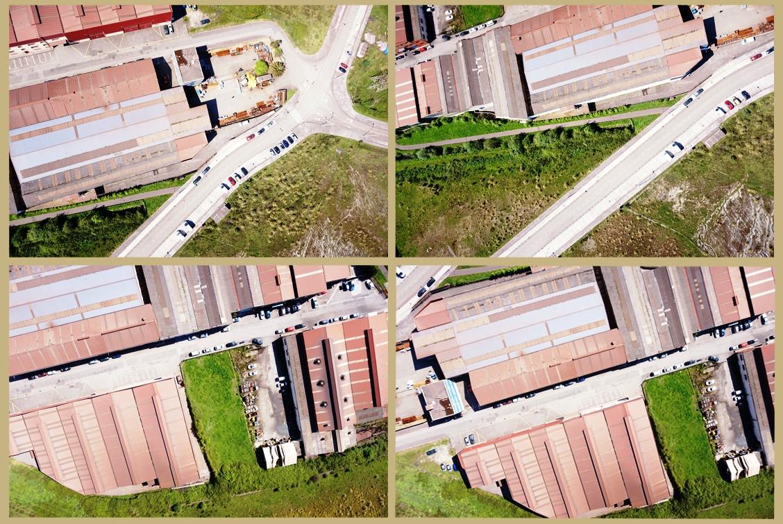 Ortofoto con drones en Asturias