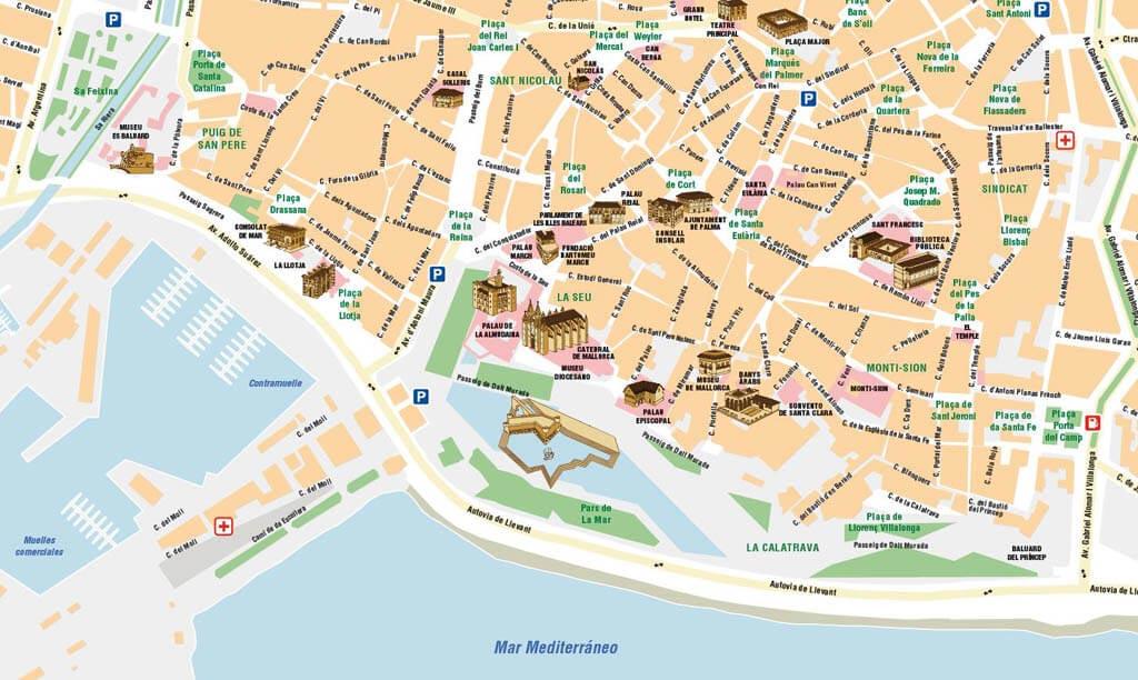 LOCIS, Cartografía digital