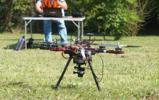 Dron en Asturias