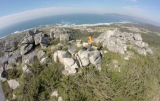 Pilotaje de dron en Asturias