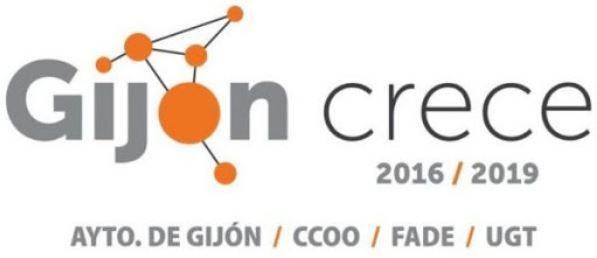 Logo Gijón crece