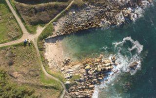 Imagen aerea con dron en Asturias