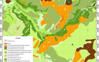 Mapa hábitats