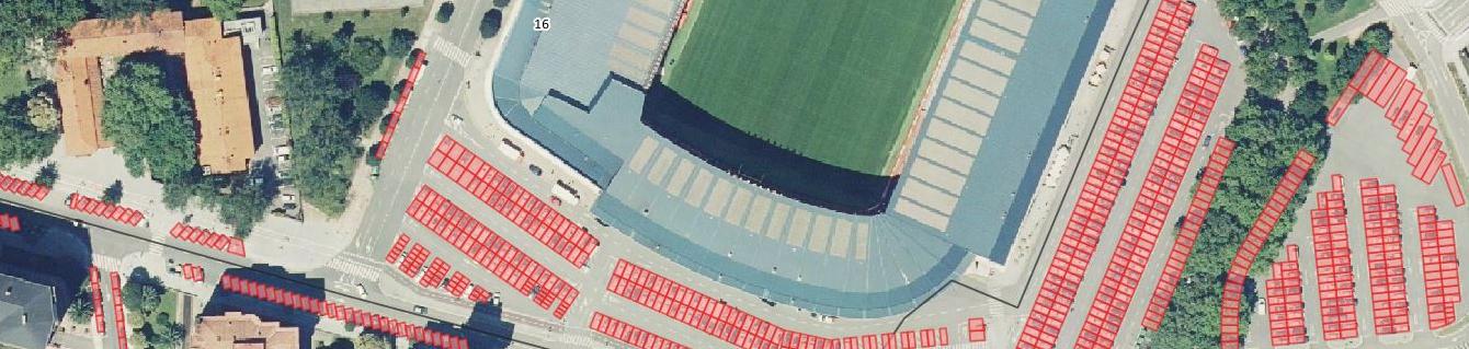 Imágen aérea GIS