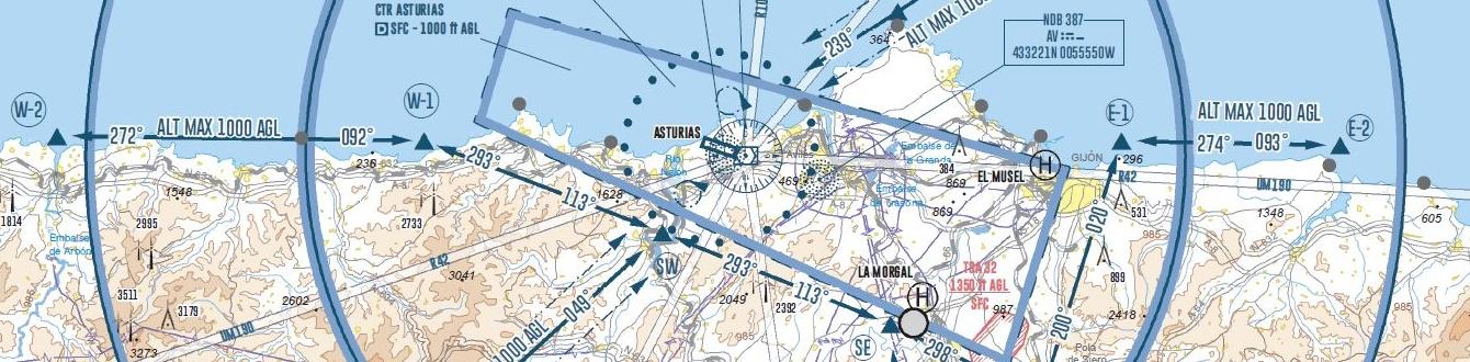 Carta de Aproximación de Asturias [LEAS]